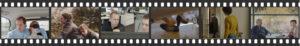 ein FIlmstreifen mit Bildern aus den FIlmen